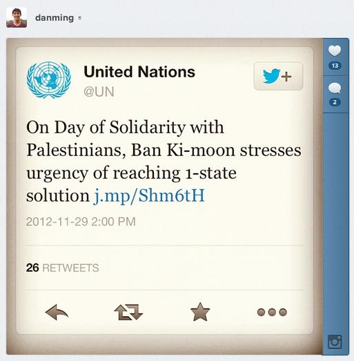 UN Tweet