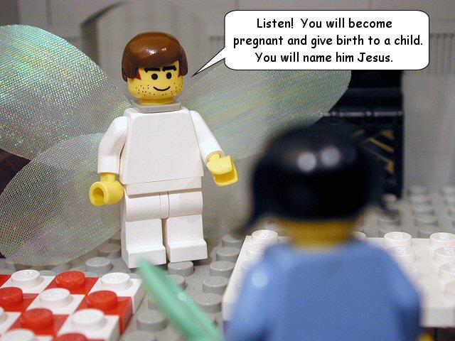 Luke 1 - Lego Bible