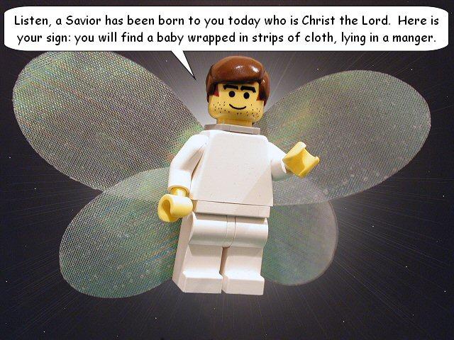 Luke 2-10 - lego bible