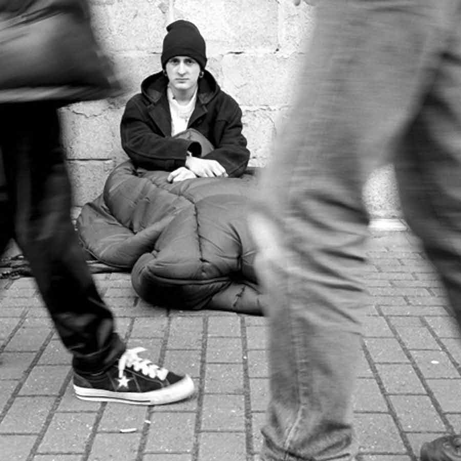 an analysis of homeless person Drawing on multivariate analysis of two cross-sectional datasets (the  that may  leave a person vulnerable to homelessness over which they have no control.