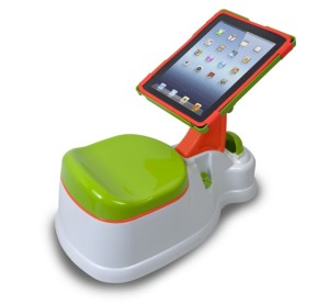 iPotty with iPad