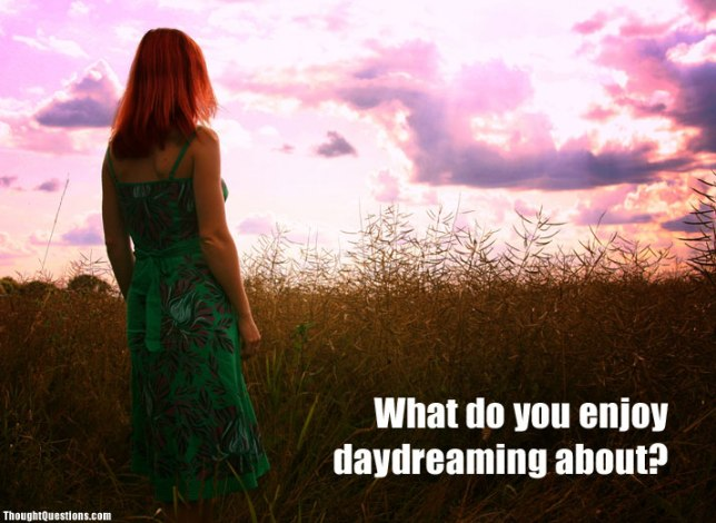 What do you enjoy daydreaming about